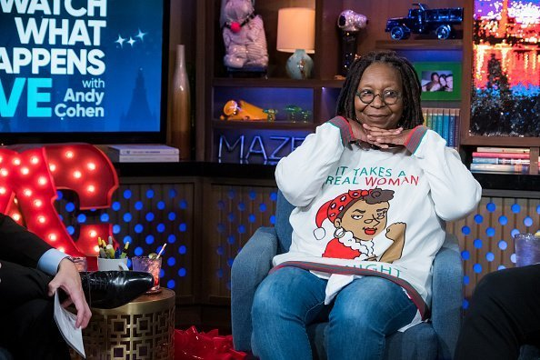 "Whoopi Goldberg on ""Watch What Happens Live With Andy Cohen"" 