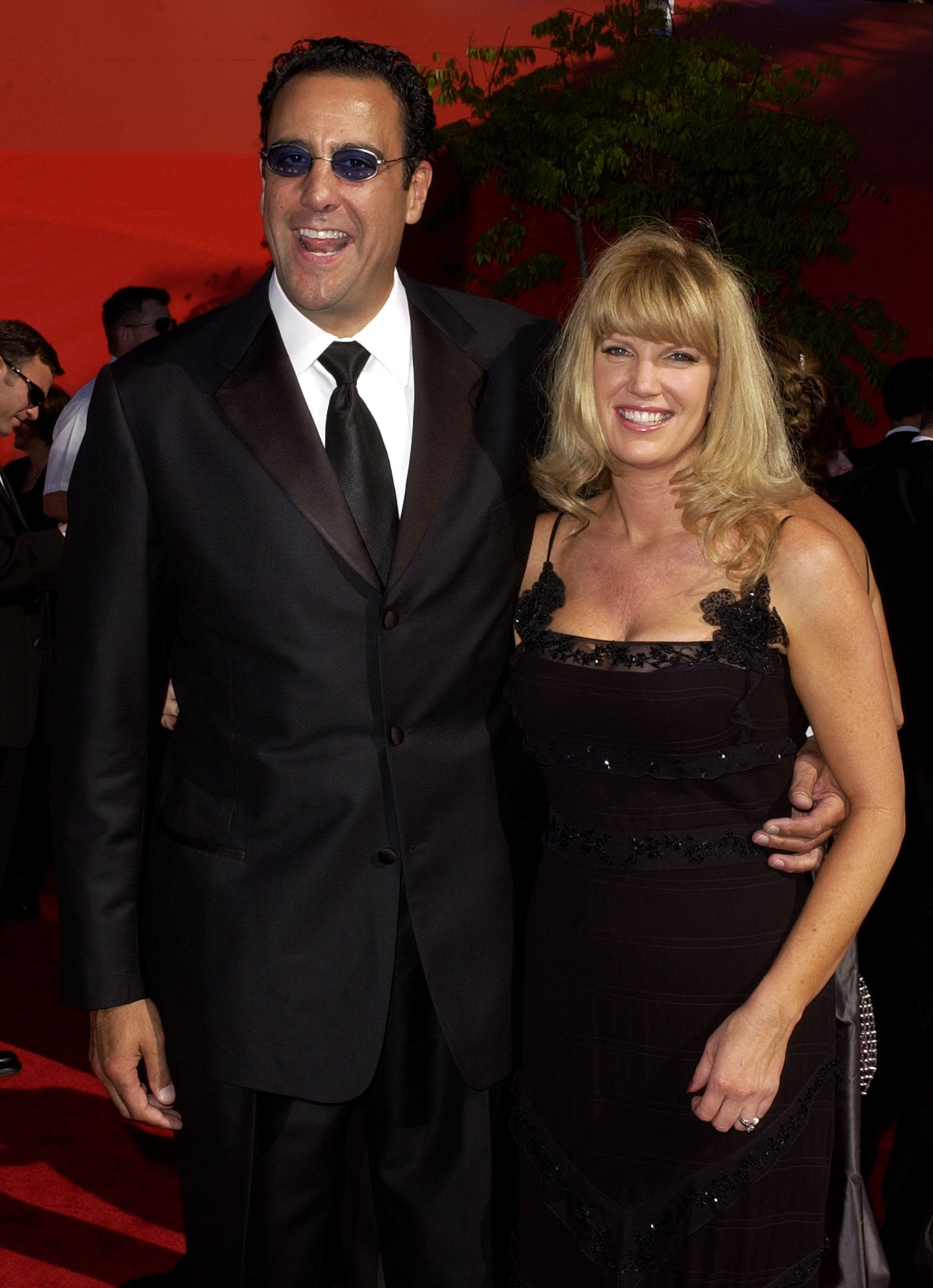Brad Garrett and former wife Jill Diven during The 54th Annual Primetime Emmy Awards at The Shrine Auditorium in Los Angeles, California, United States   Photo: Getty Images