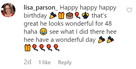 A fan commented on Marlo's post   Instagram: @officialmarlothomas