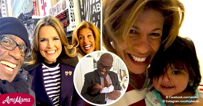 Hoda Kotb shares adorable photo of Al Roker cradling her sweet baby girl Haley in his arms