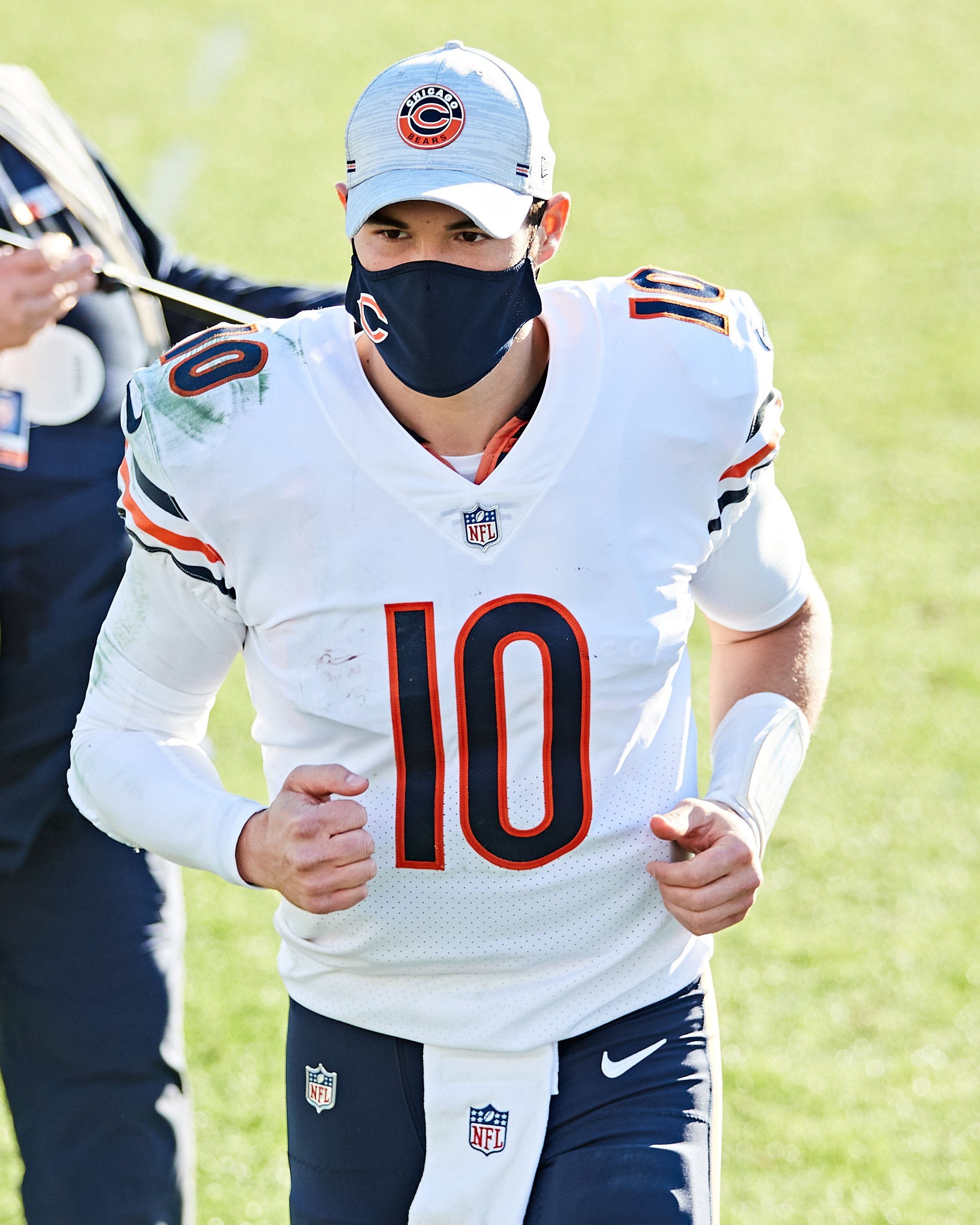 Mitch Trubisky in action against the Jacksonville Jaguars in December last year. | Photo: Getty Images.