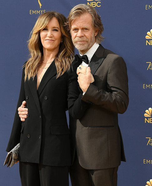 Felicity Huffman, William H. Macy at the 70th Emmy Awards on September 17, 2018 | Photo: Getty Images