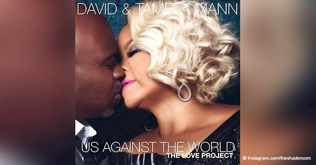 David and Tamela Mann made hearts skip with steamy photo for their new album release