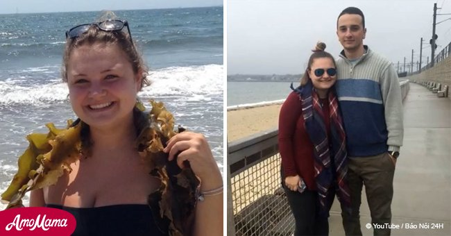 Bride-to-be loses 60-lb in six months by walking and looks unrecognizable now