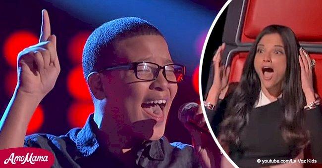 Sorprendente voz de niño que dejó atónitos a jueces durante La Voz Kids 3