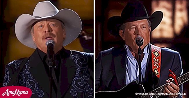 Alan Jackson and George Strait sing together and their powerful duet bewitched fans