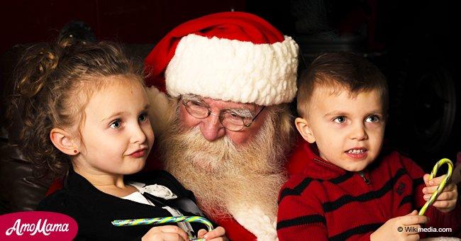 Vous souvenez-vous du moment où vous avez cessé de croire au Père Noël? Une femme dit que sa mère prétend toujours qu'il existe