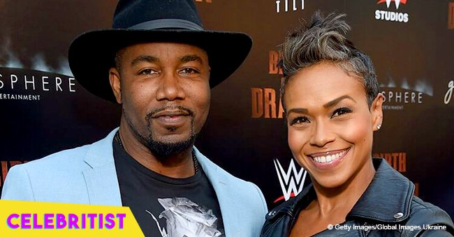 Michael Jai White and wife Gillian Waters show off toned muscles in latest pic