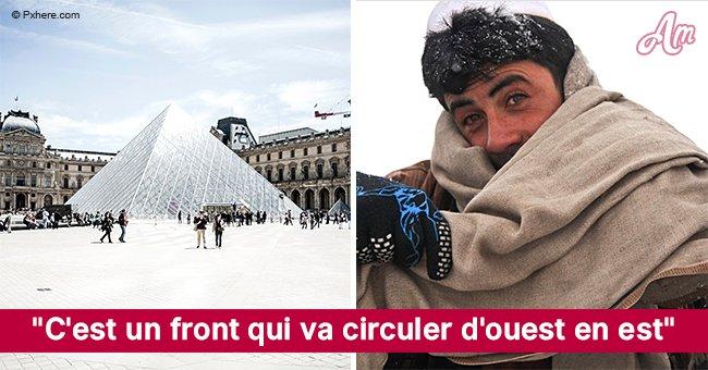 Une grosse neige d'environ 5 et 10 cm est de retour mardi sur une bonne partie de la France