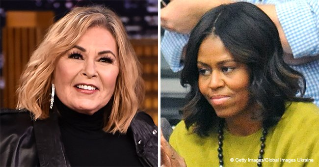 Roseanne Barr Blames Michelle Obama for Getting Fired, Calls Donald Trump a 'Genius'
