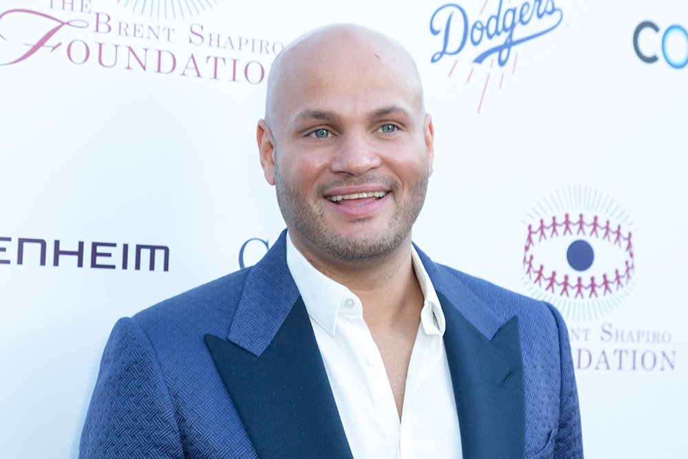 Stephen Belafonte arrives for the Annual Brent Shapiro Foundation For Alcohol And Drug Prevention Summer Spectacular at a Private Residence on September 9, 2017 in Beverly Hills, California. I Image: Getty Images.