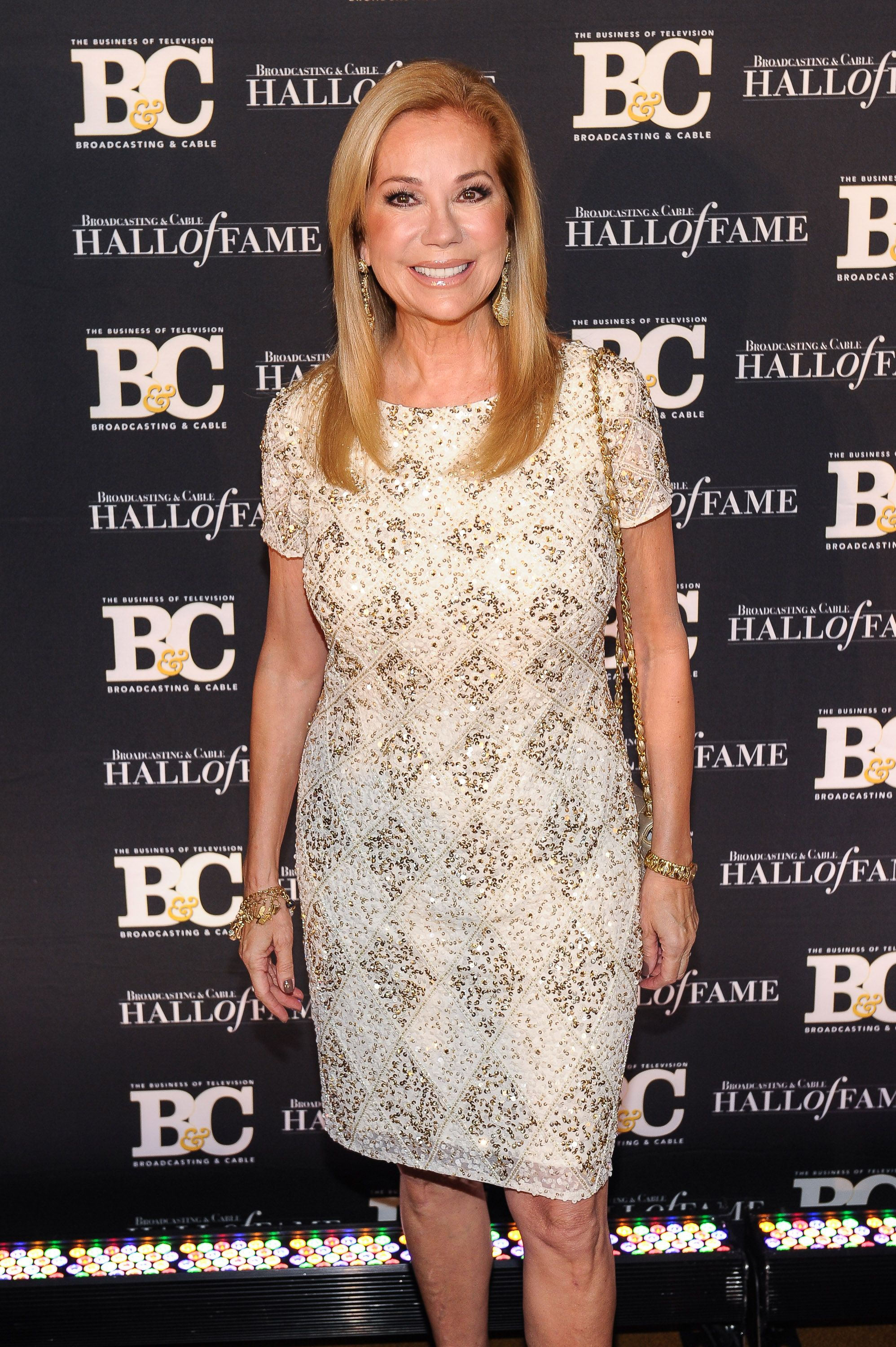 Kathie Lee Gifford at Broadcasting and Cable Hall Of Fame Awards 25th Anniversary Gala at The Waldorf Astoria on October 20, 2015 | Photo: Getty Images