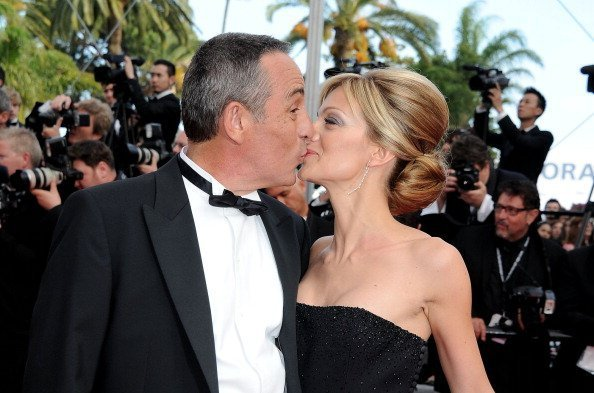 Thierry Ardisson et Audrey Crespo-Mara | Source: Getty Images