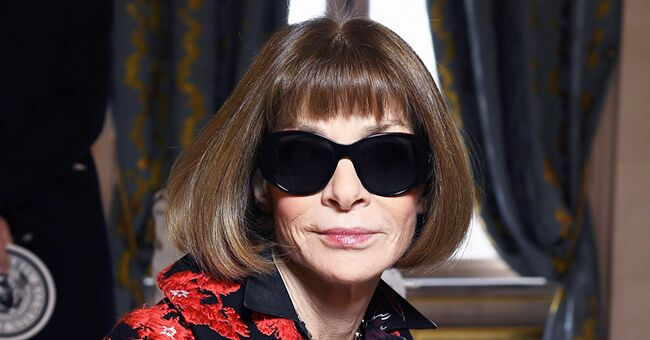 Anna Wintour of Vogue Magazine Ignored Questions about Melania Trump's Style to Praise Michelle Obama Instead