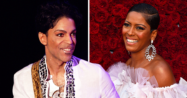 Tamron Hall Shares Story behind How Her Selfie Became Prince's Cover Art for 'If Eye Could Get Ur Attention'