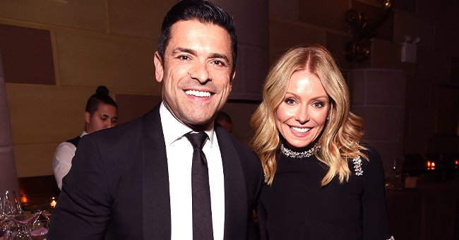 Mark Consuelos and Kelly Ripa posing during the Radio Hall of Fame Class of 2019 Induction Ceremony at Gotham Hall in New York City | Photo: Michael Kovac/Getty Images for Radio Hall of Fame