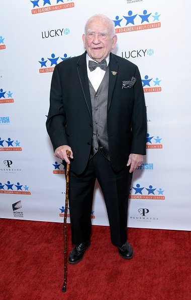 """Ed Asner attends the Ed Asner Family Center's first annual """"A Night of Dreams"""" gala at Exchange LA in Los Angeles 
