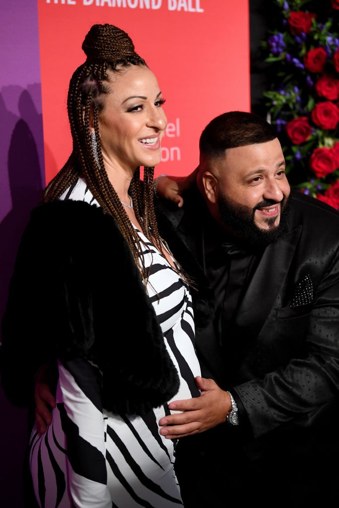 DJ Khaled and his wife Nicole Tuck at Rihanna's 5th Annual Diamond Ball benefitting The Clara Lionel Foundation in 2019 | Source: Getty Images