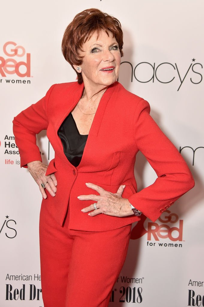Marion Ross attends the American Heart Association's Go Red For Women Red Dress Collection 2018 presented by Macy's at Hammerstein Ballroom on February 8, 2018 in New York City | Photo: GettyImages