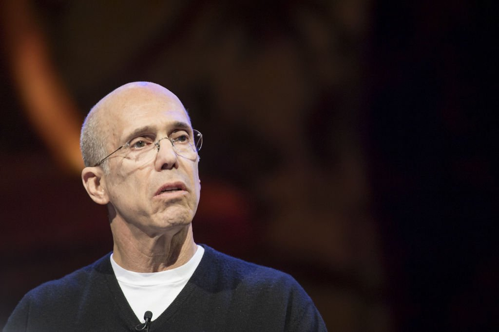 Jeffrey Katzenberg, chairman and founder of Quibi SA, speaks during a keynote at CES 2020 in Las Vegas, Nevada, U.S., on Wednesday, Jan. 8, 2020 | Photo: Getty Images