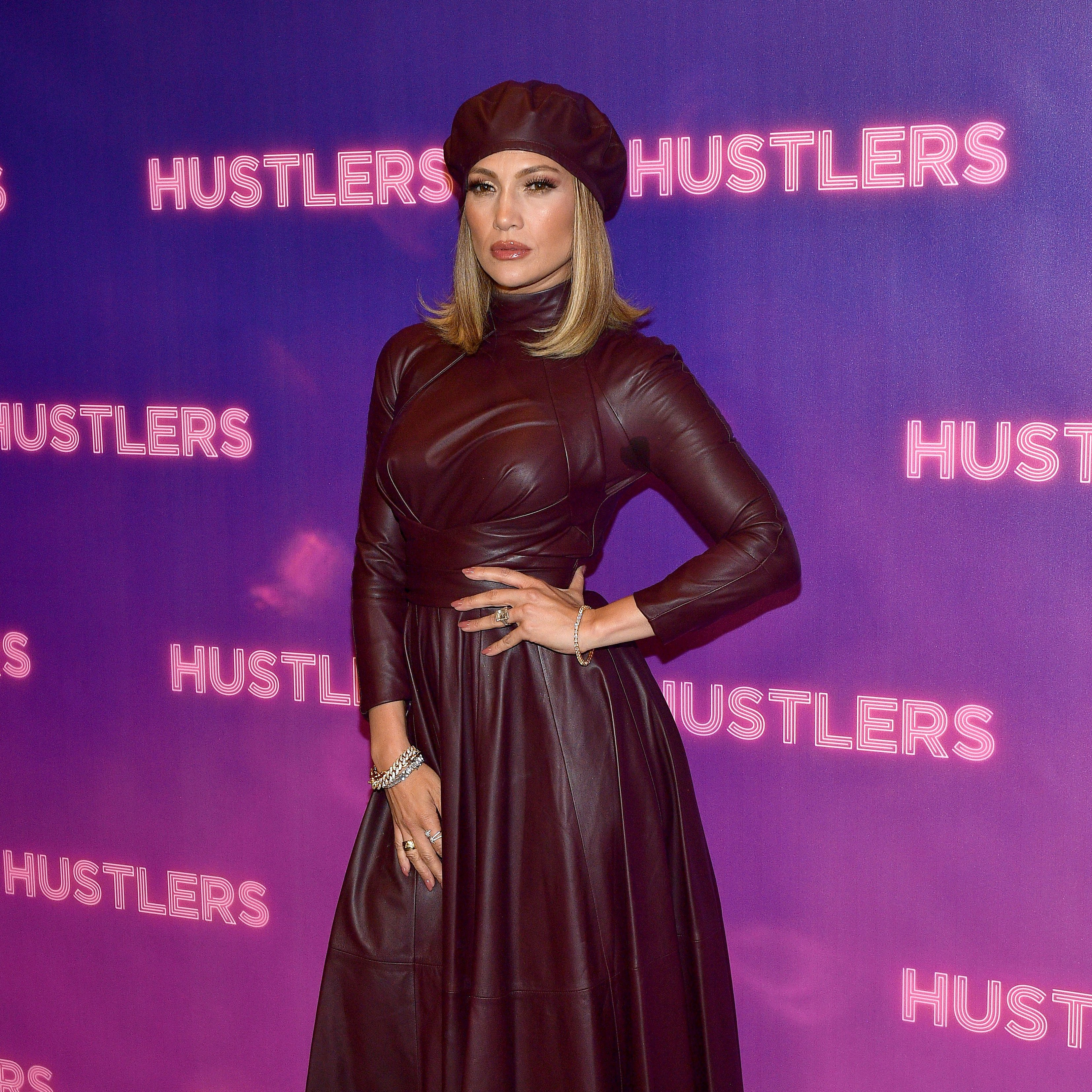 "Jennifer Lopez attends STX Entertainment's ""Hustlers"" Photo Call at Four Seasons Los Angeles at Beverly Hills on August 25, 2019, in Los Angeles, California. 