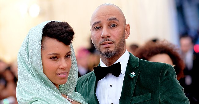 Alicia Keys' Husband Swiss Beatz and His Son Are Twinning in Head-To-Toe Ivy Park x Adidas Gear in Photo