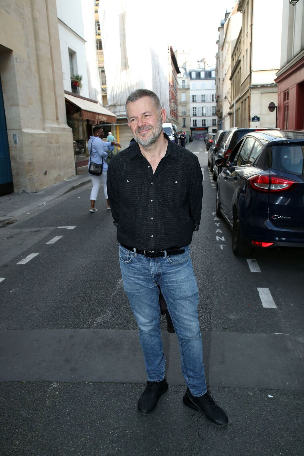 "Eric Naulleau participe à ""Marek Halter Celebrates Sukkot"" le 13 octobre 2019 à Paris, France. 