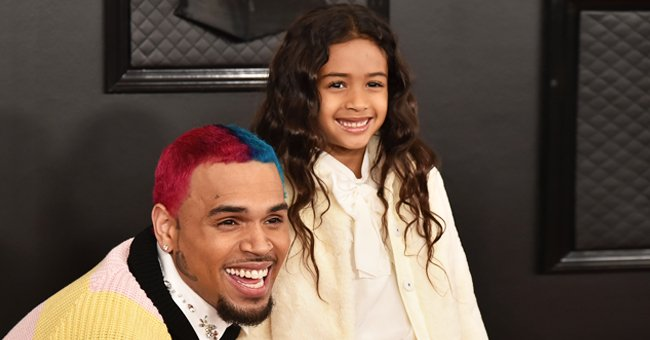 Watch Chris Brown's Adorable Daughter Royalty Proudly Show off Her Gymnastic Moves at Home