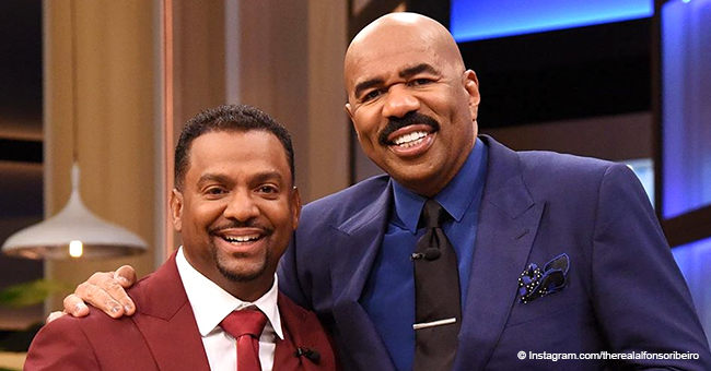 Alfonso Ribeiro Says He May Leave Steve Harvey's Studio 'Any Second' as Baby No 4 Is Coming to World