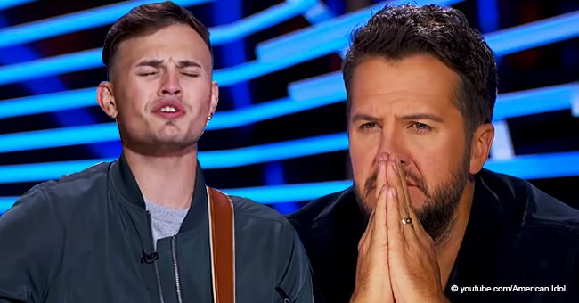 Luke Bryan Almost Cries on 'American Idol' after Relating to a Contestant's Loss