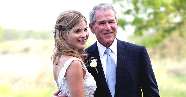 Jenna Bush Hager's Fans Say Newborn Son Hal Resembles Grandpa George in a New Family Photo