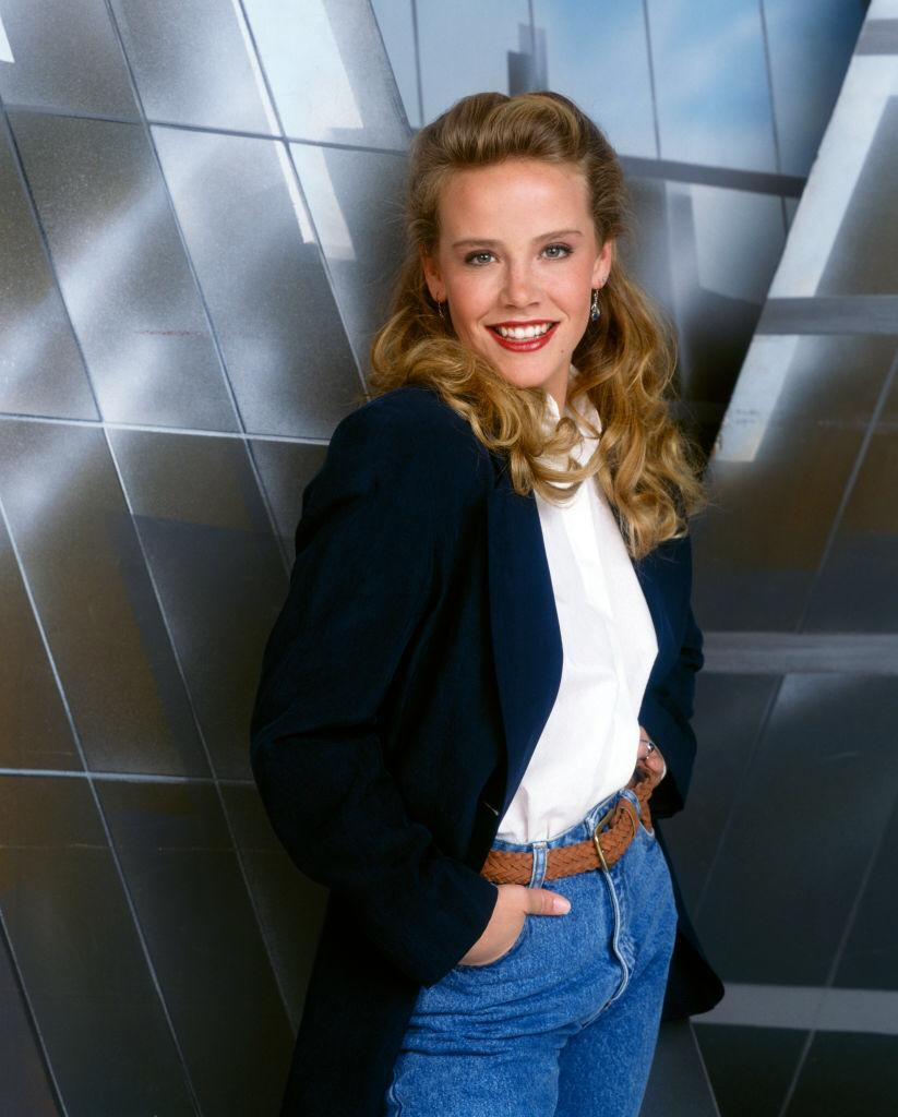 """Amanda Peterson stars as Abigail Baywood in the TV movie """"Posing: Inspired by Three Real Stories""""  which aired on November 5, 1991   Photo: Getty Images"""
