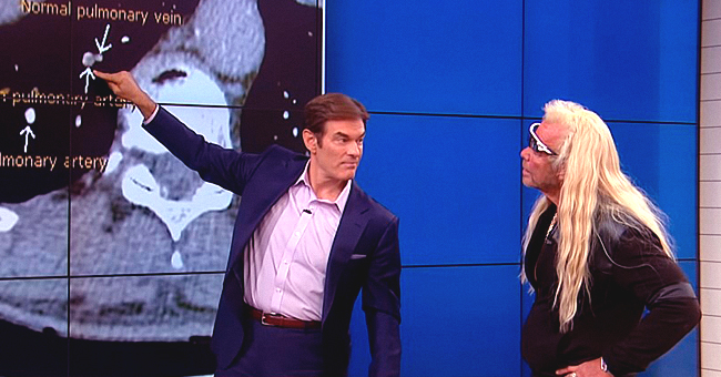 Dr Oz Talks about Results of Duane 'Dog' Chapman's Medical Lung Scan on His Talk Show