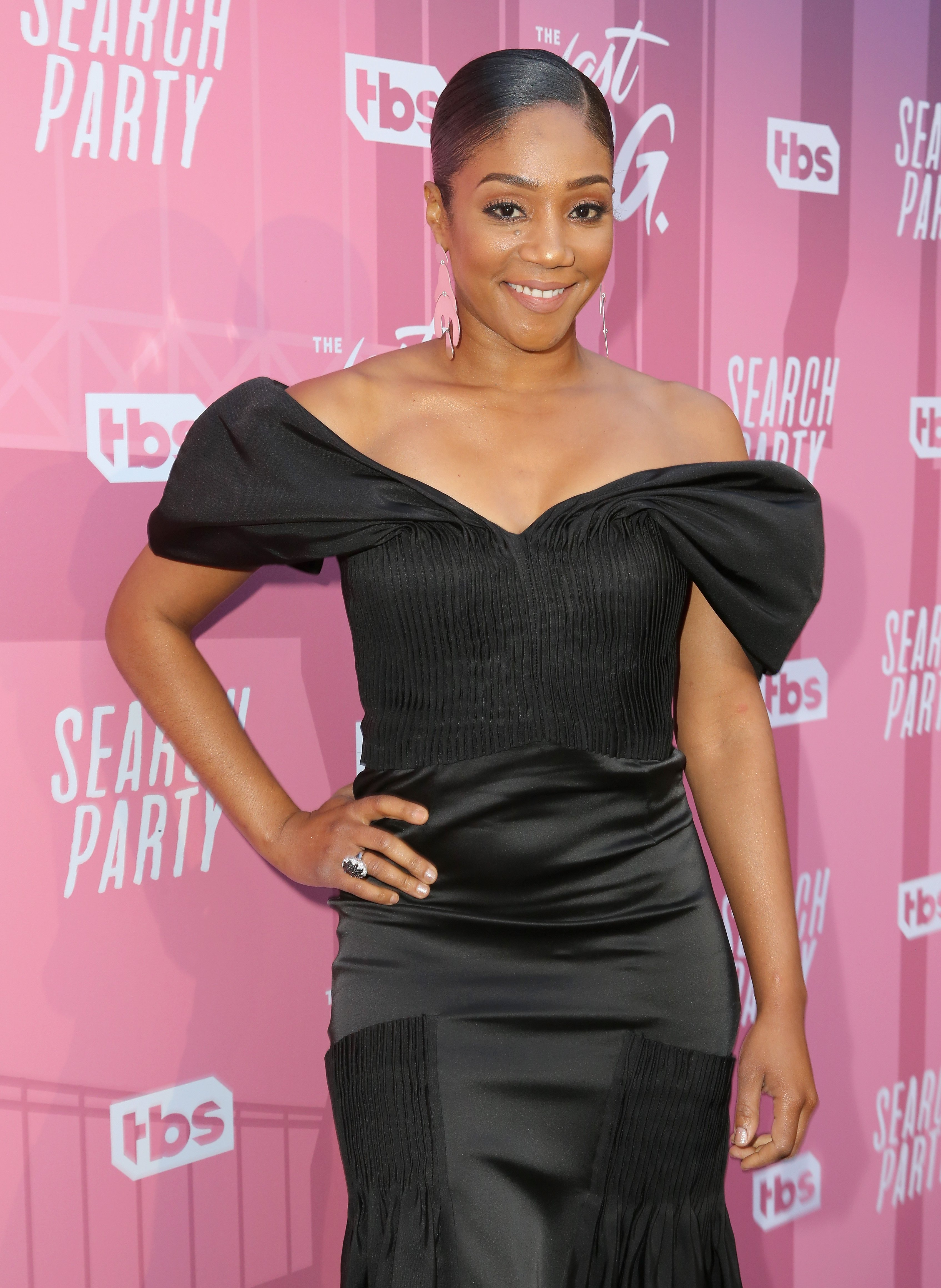 Tiffany Haddish attends the For Your Consideration Red Carpet Event for TBS' Hipsters and O.G.'s at Steven J. Ross Theatre. | Source: Getty Images