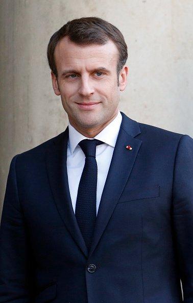 Le président français Emmanuel Macron reçoit la chancelière allemande Angela Merkel au Palais de l'Elysée à Paris | Photo / Getyy Images