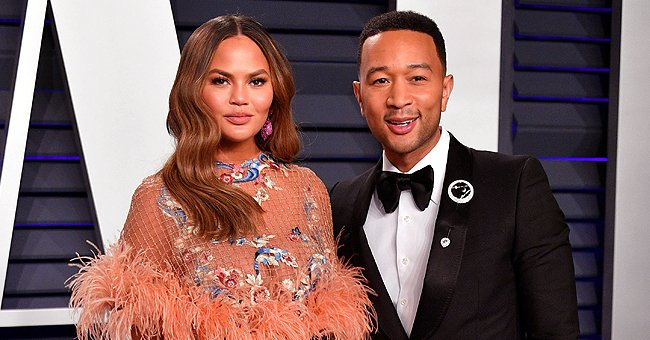 John Legend and Chrissy Teigen's Kids Are Dad's Lookalikes in a New Photo