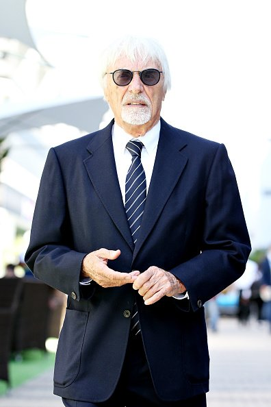 Bernie Ecclestone looks on in the Paddock before the F1 Grand Prix of Russia at Sochi Autodrom on September 29, 2019 in Sochi, Russia   Photo: Getty Images