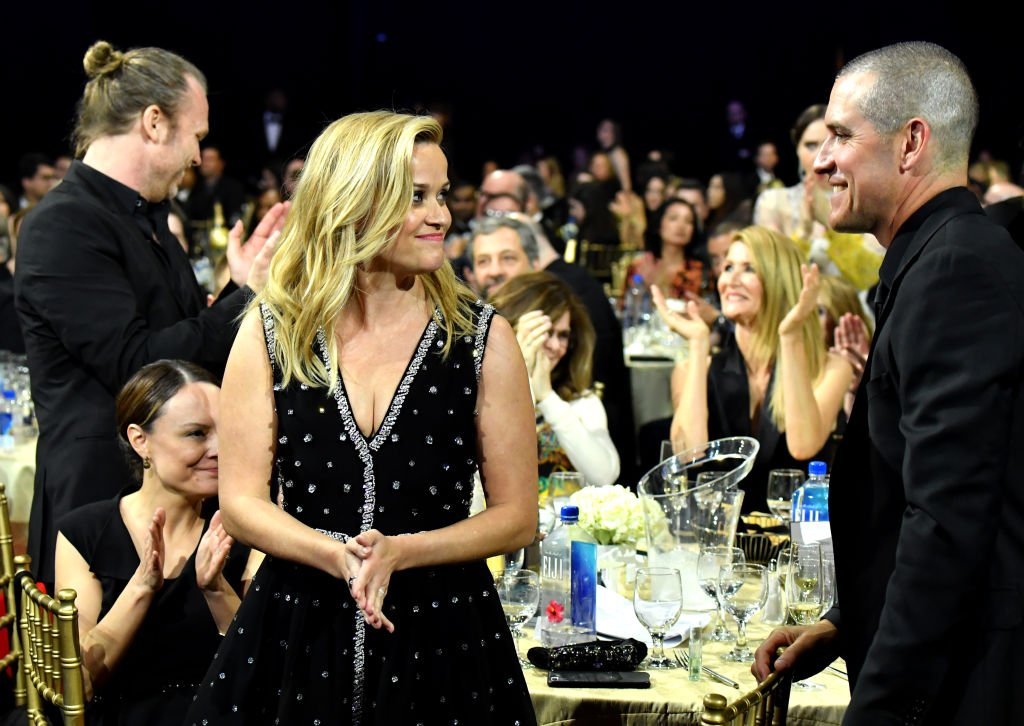 Reese Witherspoon  and Jim Toth attend The 23rd Annual Critics' Choice Awards 2018 | Photo: Getty Images
