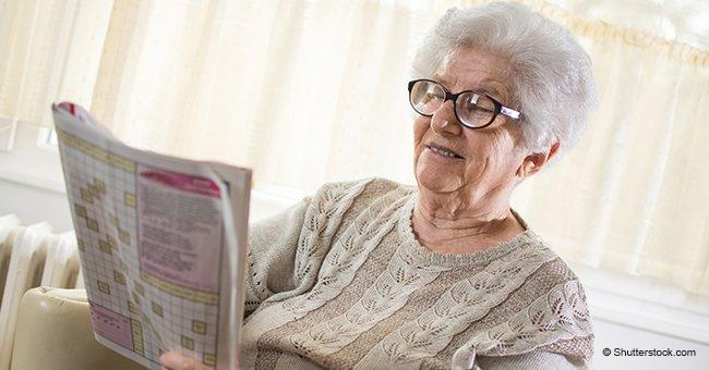 Une vieille veuve veut à nouveau sortir avec quelqu'un et passe une annonce dans le journal