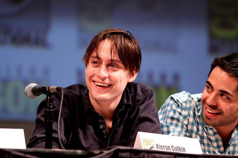 "Kieran Culkin on the ""Scott Pilgrim vs. the World"" panel. 