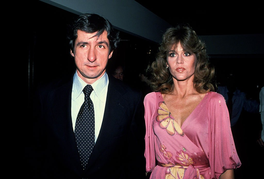 Jane Fonda and Tom Hayden circa 1979 in New York City. | Source: Getty Images