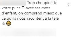 Commentaire d'un internaute sur le post de Dany Boon. | Photo : Instagram