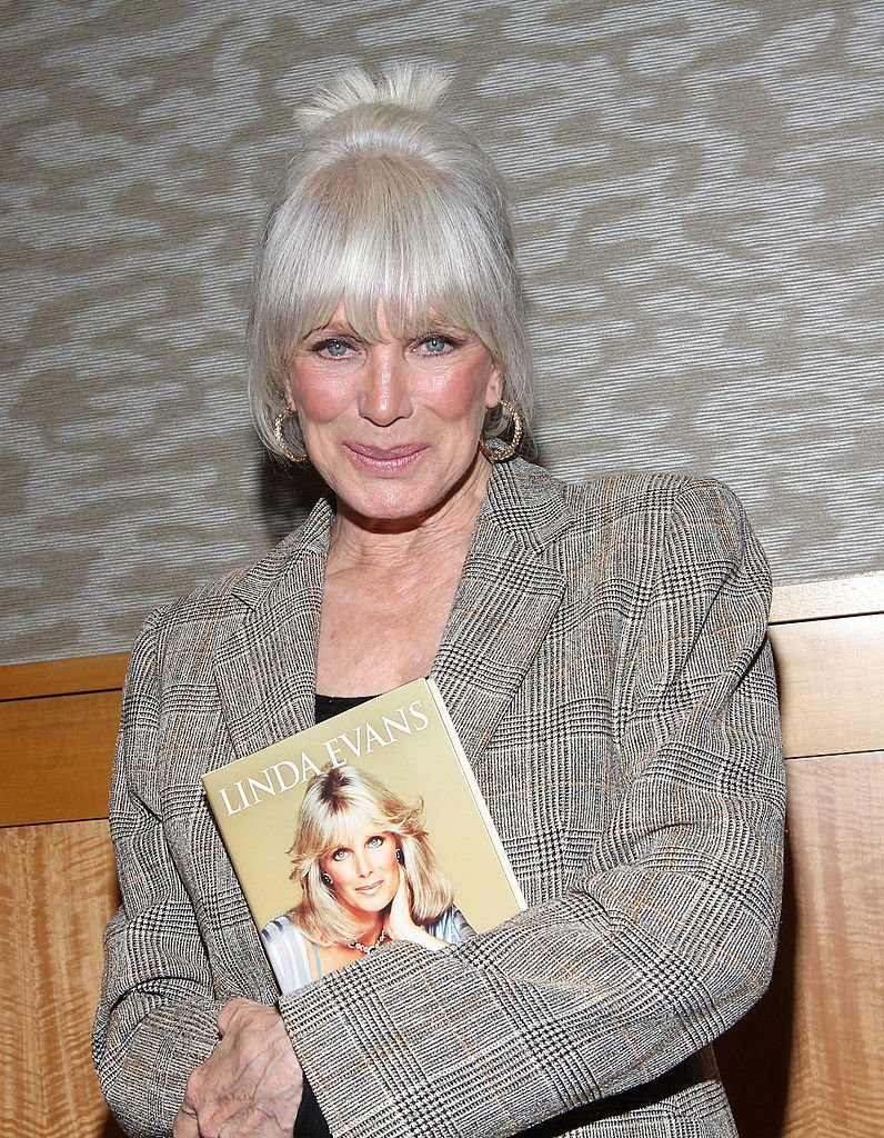 """Linda Evans promotes her book """"Recipes for Life"""" in New York City on October 13, 2011 