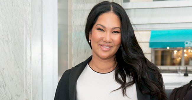 Kimora Lee Simmons' Daughter Aoki Looks Unforgettable in Black & White Photo Posing in a Corset