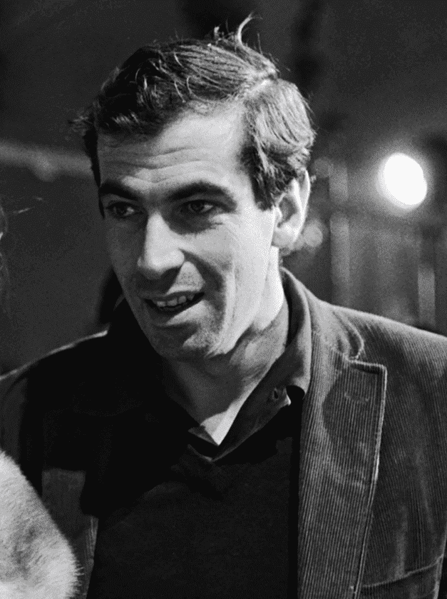 French director Roger Vadim, Jane Fonda's first husband. I Image: Twitter/ Criterion Collection.