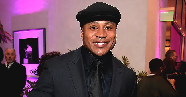 LL Cool J's Wife Looks Elegant in a Shimmering Dress and a Black Velour Jacket (Photo)