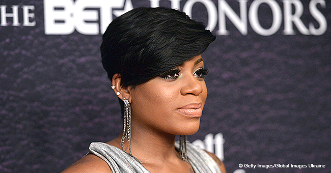 Fantasia Is Smoking Hot in Animal Print Mini Dress and Black High Heels in Recent Picture