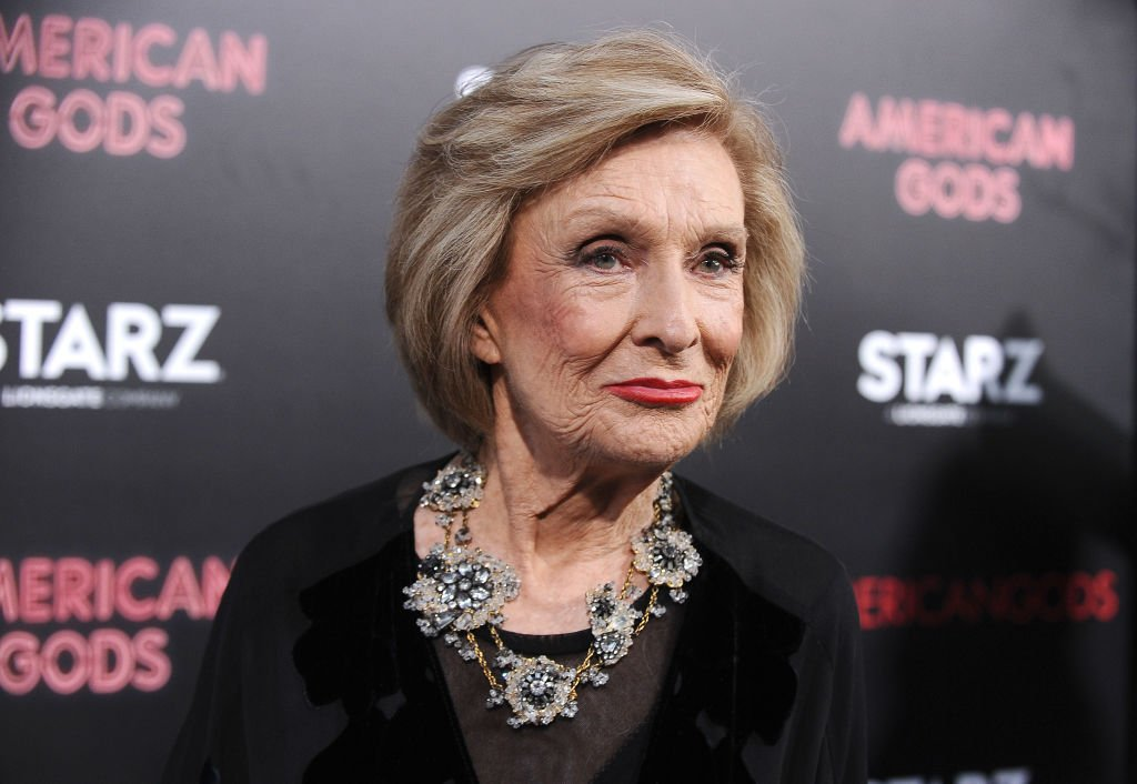 """Cloris Leachman attends the premiere of """"American Gods"""" at ArcLight Cinemas Cinerama Dome on April 20, 2017 in Hollywood, California 
