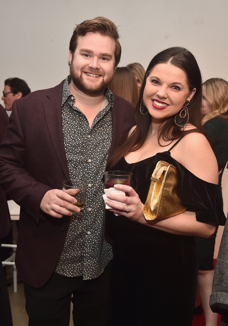 Dillon King and Amy Duggar on December 11, 2018 in Beverly Hills, California | Photo: Getty Images