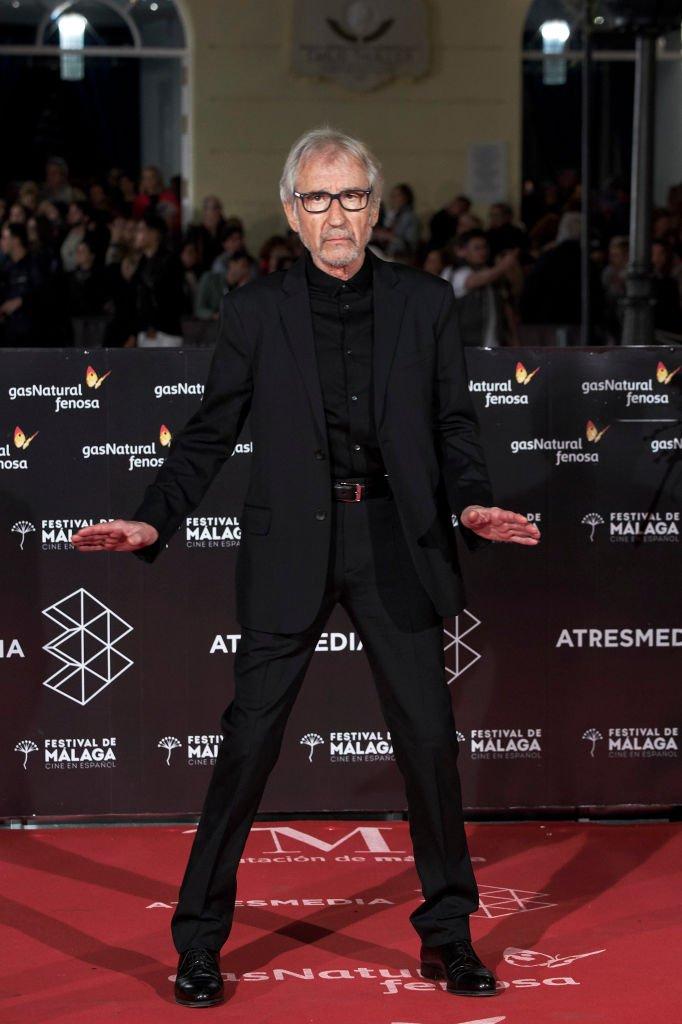 José Sacristán en los Premios 'Málaga Hoy' en el Teatro Cervantes el 16 de abril de 2018 en Málaga, España. | Foto: Getty Images